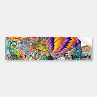 GAIA'S TIME BUMPERSTICKER by Raven Dancing Bumper Sticker