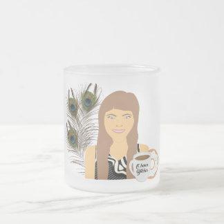Gail Ohana Donut Frosted Mug