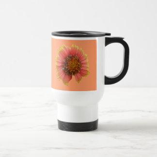Gaillardia Wildflower (Blanket Flower) Tote Bag Stainless Steel Travel Mug