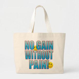 Gain Life B Large Tote Bag