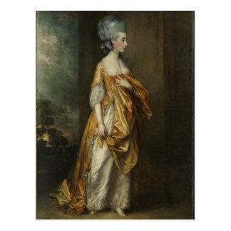 Gainsborough Painting of Grace Dalrymple Elliott Postcard