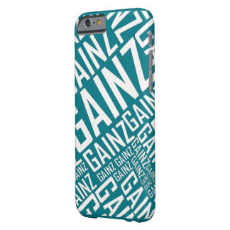 Gainz Iphone Case - White Letters