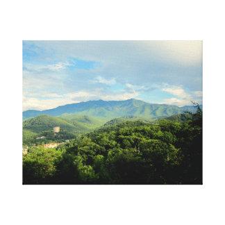Gaitlanburg Tennessee Canvas Print