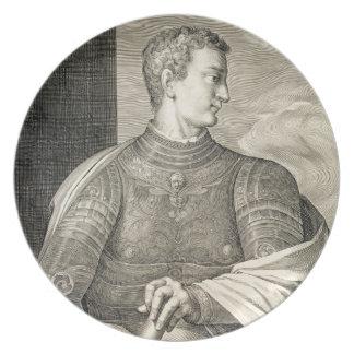 Gaius Caesar 'Caligula' (12-41 AD) Emperor of Rome Plate