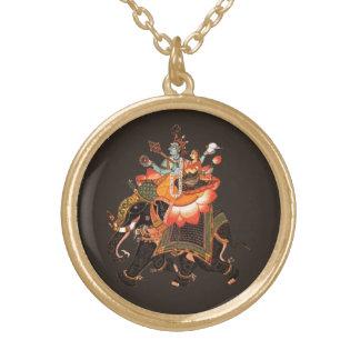 Gajavahana Gold Plated Necklace