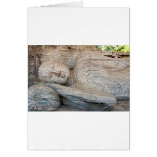 Gal Vihara, Polonnaruwa, Sri Lanka Card