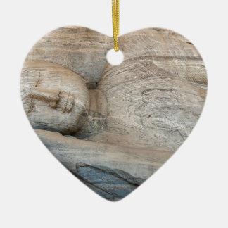 Gal Vihara, Polonnaruwa, Sri Lanka Ceramic Heart Decoration