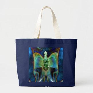 Galactic Angel Tote Bag