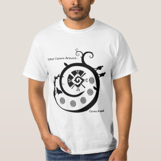 Galactic Butterfly - What comes around goes around T-Shirt