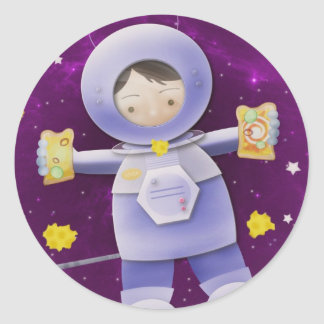 Galactic cheese sandwich - stickers