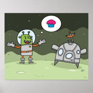 Galactic Dessert Quest - Poster