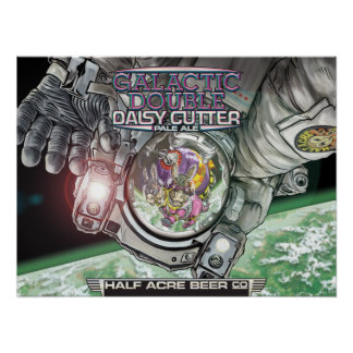 Galactic Double Daisy Cutter 2015 Poster