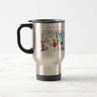 Galactic Family' Doing a Test Visit Travel Mug