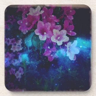Galactic Flower Drink Coaster