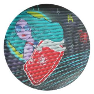 Galactic Girl Plate