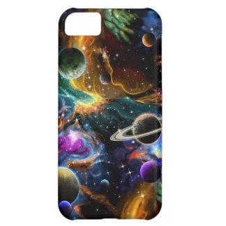 Galactic Nebula and Planets iPhone 5C Case