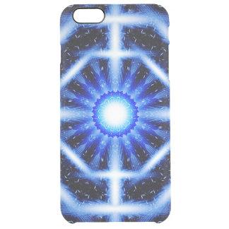 Galactic Octagon Mandala Clear iPhone 6 Plus Case