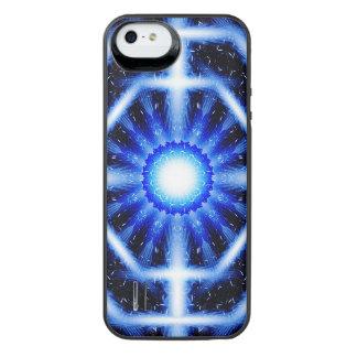 Galactic Octagon Mandala iPhone SE/5/5s Battery Case