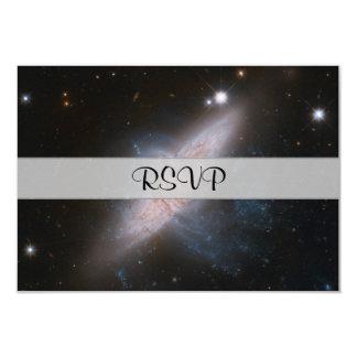 Galactic Overlay 9 Cm X 13 Cm Invitation Card