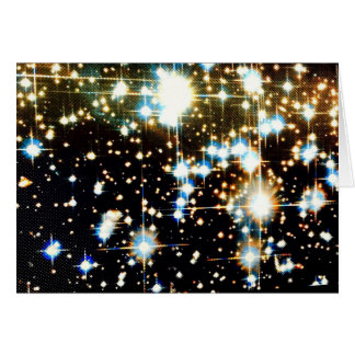 Galactic space awesomeness for cosmic glory greeting card