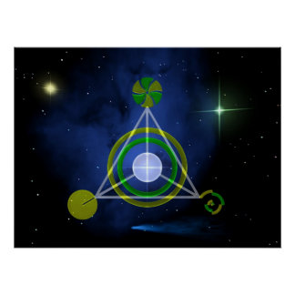 Galactic Triangle Poster
