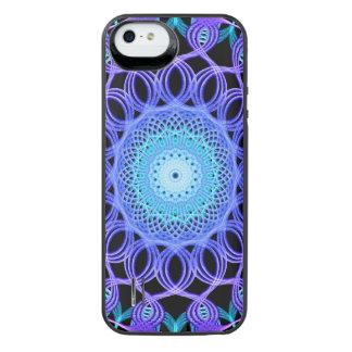 Galactic Web Mandala iPhone SE/5/5s Battery Case