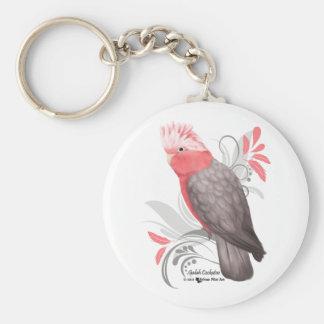 Galah Cockatoo Key Ring