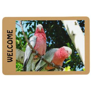 Galah (Rose Breasted Cockatoo) Door Mat