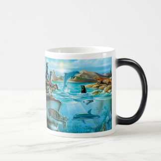 Galapagos Animals Morph Mug