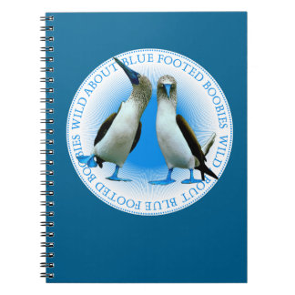 Galapagos Islands Blue Footed Boobies Notebook