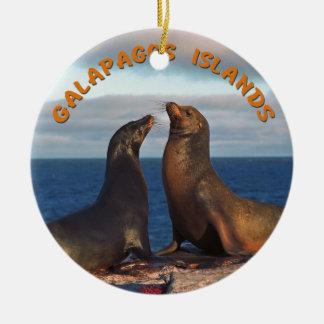Galapagos Islands Ceramic Ornament