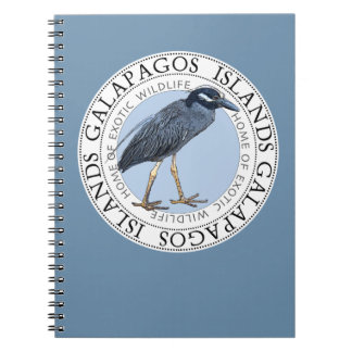Galapagos Islands Night Heron Notebook Journal