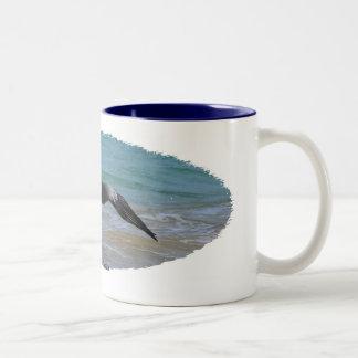 Galapagos Pelican Coffee Mugs