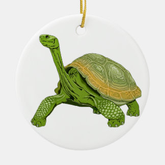 Galapagos Tortoise Ceramic Ornament