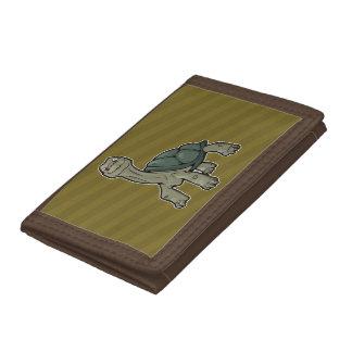 Galapagos Tortoise Tri-fold Wallet