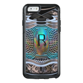 Galastar High Tec Monogram Modern Protective OtterBox iPhone 6/6s Case