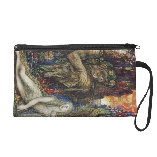 Galatea by Gustave Moreau Wristlet Clutches
