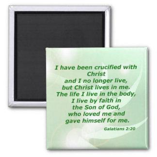 Galatians 2:20 magnet