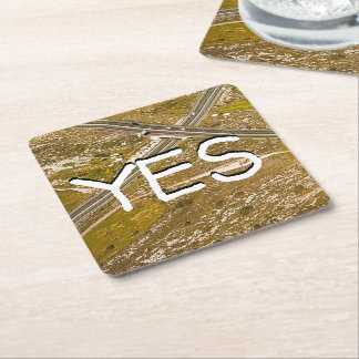 Galatians Chapter 6 Square Paper Coaster
