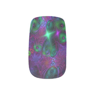 'Galaxies' C2TL custom fractal art space stars Minx Nail Art