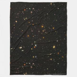 Galaxies Fleece Throw