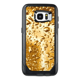 Galaxy 7 Case | Water Droplets on Gold