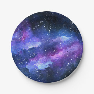 Galaxy 7 Inch Paper Plate