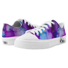 Galaxy Abstract Print Shoes