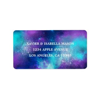 Galaxy Address Label