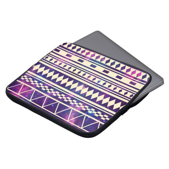 Galaxy andes aztec laptop sleeve