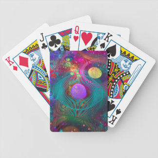 Galaxy Art Bicycle Playing Cards