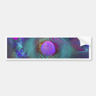 Galaxy Art Bumper Sticker