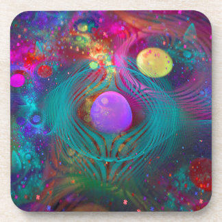 Galaxy Art Coasters