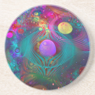 Galaxy Art Sandstone Coaster